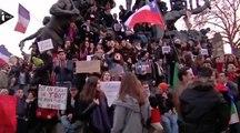 Cinq images fortes des rassemblements en France contre les attentats de Charlie Hebdo
