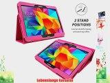 Snugg? Galaxy Tab 4 10.1 Zoll H?lle (Hei? Rosa) - Smart Case mit lebenslanger Garantie