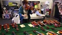 Professional Violinist, Concert Master, Reviews Her Favorite Scott Cao Violins!