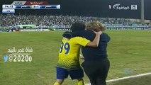 فرحه كارينيو || بعد هدف عمر هوساوي في الفتح || لقطه طلب