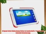 rooCASE Samsung Galaxy Tab 3 7.0 Ultra Slim Case H?lle - Horizontal Vertikal St?nderfunktion