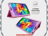 Snugg? Galaxy Tab S 8.4 H?lle (Rosa) - Smart Case mit lebenslanger Garantie