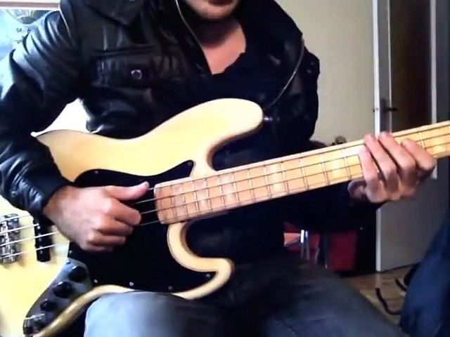 SLAP BASS SECRETS #1 of 8 [By Miki Santamaria] - The best slap lick EVER!! VICTOR WOOTEN STYLE