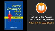 [Download PDF] Federal Contracting Made Easy 3rd Edition