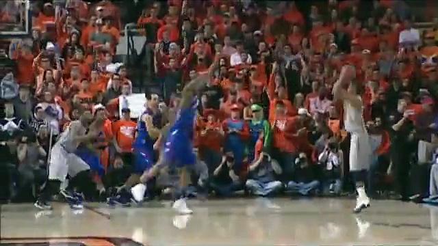 Cowboy Basketball vs. Kansas Highlights