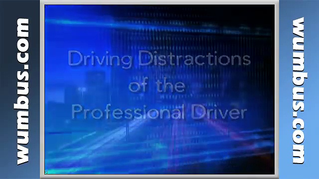 Distractions Driving Safety Video, Texting While Driving Safety Video