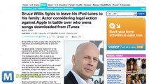 Bruce Willis Might Sue Apple Over iTunes Music Ownership