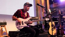 Daft Punk - Get Lucky [Bass Loop Solo by Miki Santamaria] Live @ Yamsession 2014
