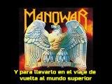 Manowar - Dark Avenger - Narraciones de Welles y Lee  - Sub en castellano