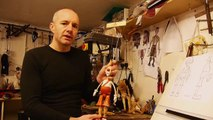 How to make a 4 string wooden marionette. www.carvingpuppets.com