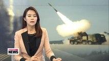 S. Korea installs newly developed multiple launch rocket system