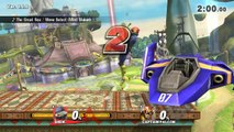 Super Smash Bros WII U: Sheik vs Captain Falcon