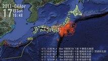 日本311東日本大震災滿1年 觀測