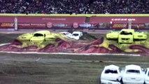 Extreme dirt bike jumps - Monster Jam @ Carrier Dome 3/12/2012