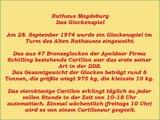 Glockenspiel Altes Rathaus Magdeburg