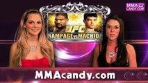 "UFC 123-  Quinton ""Rampage"" Jackson vs. Lyoto Machida - MMA Candy"