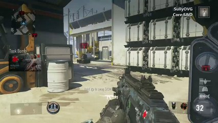 Clutching a Core Search and Destroy Match 2 vs 1