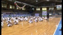 kagawa sensei  karate kata  Unsu seminar jks