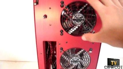 Presentation Lian Li TYR PC-X900 RED Cowcotland