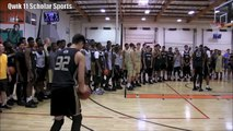 Kobe Paras DUNKS over TWO People at Adidas Nations 2015