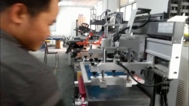 Flat Bed Screen Printer Flatbed Screen Printing Machine