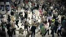 flash mob mobile promotion advert liverpool street t-mobile