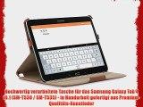 StilGut UltraSlim Case Tasche mit Stand- und Pr?sentationsfunktion f?r Samsung Galaxy Tab 4