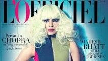 Priyanka Chopra COPIES Lady Gaga   L'officiel Magazine