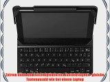 Belkin QODE Slim Style Tastatur mit H?lle (f?r das iPad Air 2) schwarz