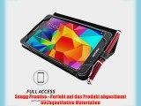 Snugg Galaxy Tab 4 7 Zoll H?lle (Schwarz) - Smart Case mit lebenslanger Garantie