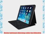 Kensington K97020WW Comercio Hard Folio Case und Stand f?r Apple iPad Air Denim blau