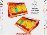 Snugg? Galaxy Note 10.1 LTE H?lle (Orange) - Smart Case mit lebenslanger Garantie (Galaxy Note