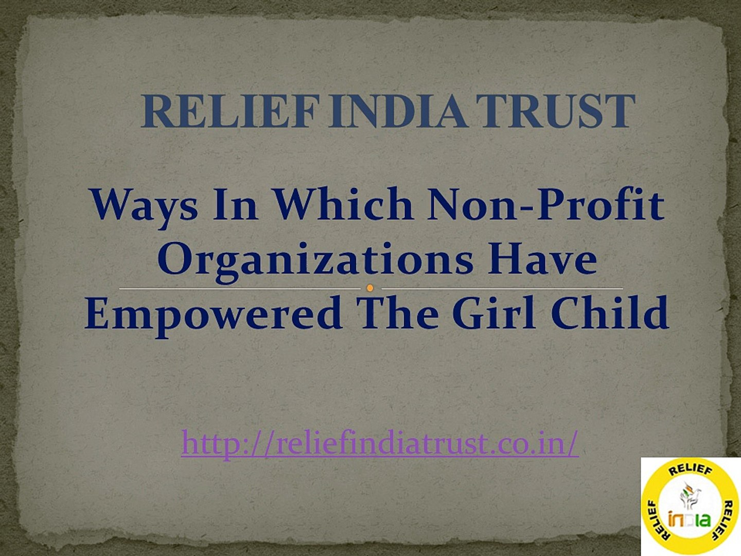 Ways In Which Non-Profit Organizations Have Empowered The Girl Child