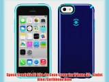 Speck CandyShell Clip-On Case Cover for iPhone 5C - Cadet Blue/Caribbean Blue