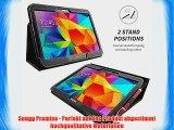 Snugg Galaxy Tab 4 10.1 Zoll H?lle (Schwarz) - Smart Case mit lebenslanger Garantie