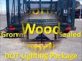 Landscape Trailers, Landscaping Trailers, Equipment Trailers, Big Tex Trailers Model 70LR-16