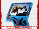 iPad Air Schale iPad Air Cover DeeMall Multi Funktions Silikon Kunststoff Dual Layer Schutz