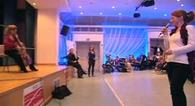 Concert à l'hôpital de Garches - Fondation Carla Bruni-Sarkozy