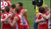 Leo Barry mark 2005 AFL Grand Final Sydney Swans MCG