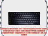 Cooper Cases(TM) B1 universelle Bluetooth Funktastatur f?r Acer Iconia One 7 B1-730 / HD Tab