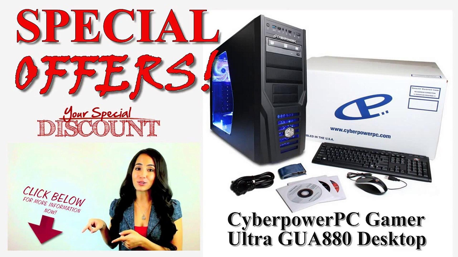 [CYBERPOWERPC BEST GAMING DESKTOP] CyberpowerPC Gamer Ultra GUA880 Gaming Desktop REVIEW!
