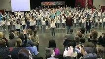 Flashmob pour les Droits de l'Enfant