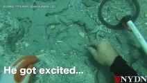 Insolite : un plongeur découvre un million de dollars