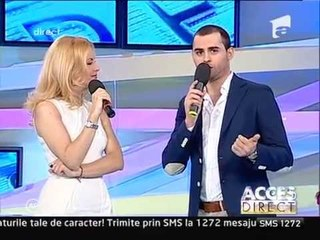 "Alex Mica vorbeste despre ""DALINDA"" @ Acces Direct - Antena 1"