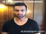 Shoaib Malik's dubsmash with boxing champ Amir Khan & wife Faryal Makhdoom