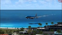 KLM 747-400 - Best Freeware Aircraft (FSX) - video dailymotion