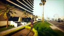 GTA 5 : Mes Premiers Stunt (COMPILATION STUNT MOTO #1)
