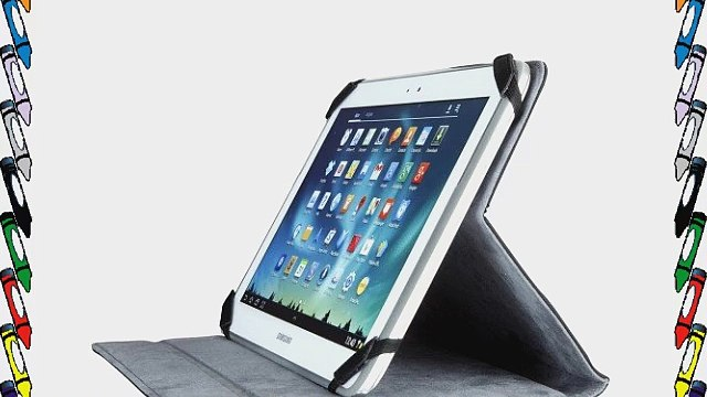 Techair TAXUT002 Folio f?r Tablet 178 cm (7 Zoll) bis 226 cm (89 Zoll) schwarz