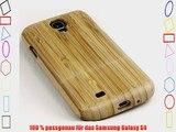 Samsung S4 Echt Holz Case Schutzh?lle Bambusholz Galaxy S4 ECHT-Holz Luxus Case aus edlen Holz