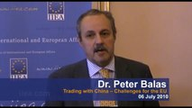 Peter Balas on Trading with China -- Challenges for the EU